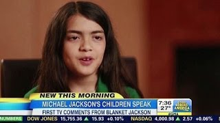 First TV Comments from Blanket Jackson - Remebering Michael Documentary