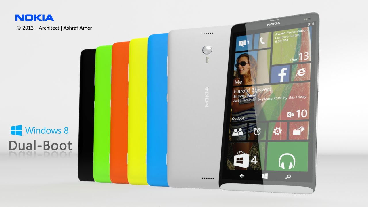 Microsoft android smartphone - Nokia Power Ranger Dual Boot 5g Mobile Android 4 4 Kit Kat Windows 8 1 Leaked Specs Youtube