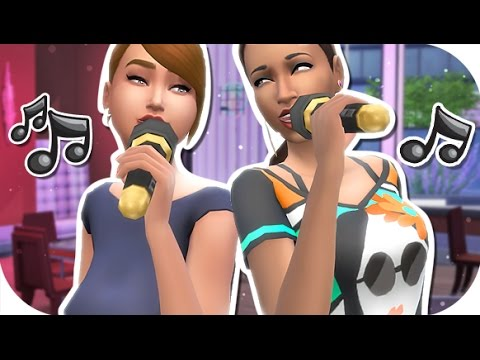 THE SIMS 4 | CITY LIVING || PART 2 — Killer Karaoke + Working From HOME!