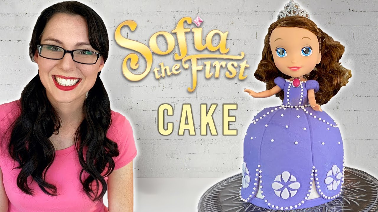 Download SOPHIA THE FIRST Cake Tutorial