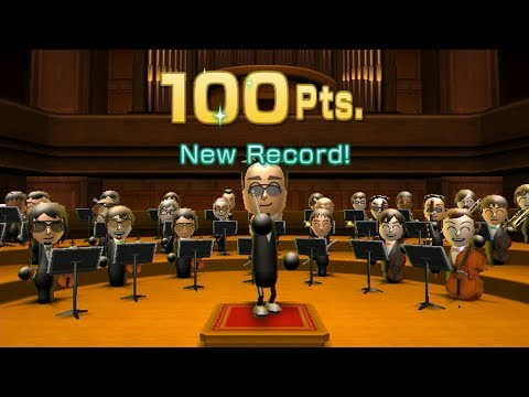 Wii Music - Open Orchestra (Mii Maestro) - 100 points on all 5 songs