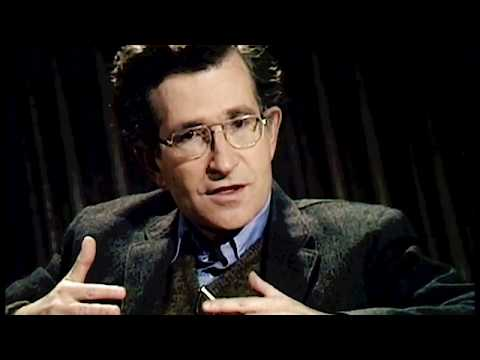Noam Chomsky interview on Language and Knowledge (1977)