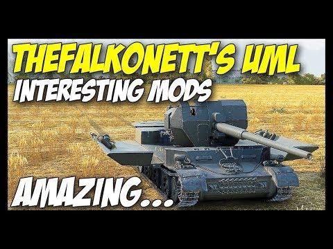 ► Interesting Mods #2 - TheFalkonett's UML Mod - World Of Tanks