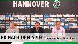 PK nach dem Spiel | Hannover 96 - 1. FC Union Berlin