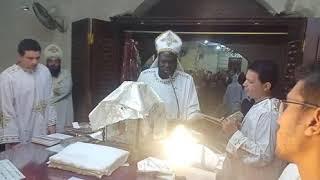قدوس الغريغوري أبونا جوزيف جون من كنيسة الأنبا بولا بشبرا الخيمة