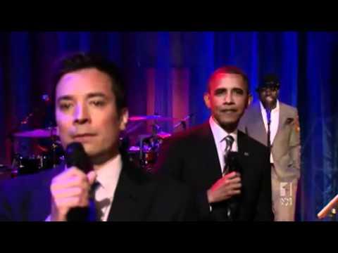Obama slow jams the news