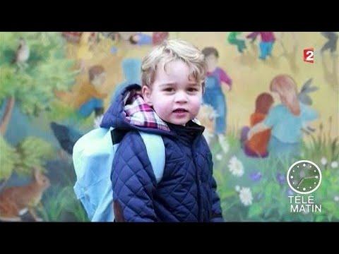 Sans frontières - Londres : La rentrée du petit Prince George