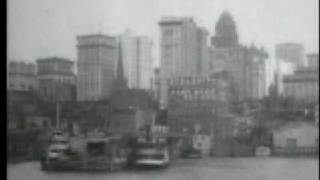 Skyscrapers of New York City, from the North River 1903