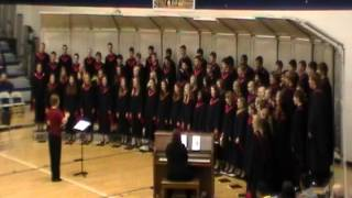 Worthington MN High School Choir performs at SW Minnesota Choral Festival