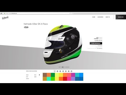 helmade - Design your helmet online in 3D