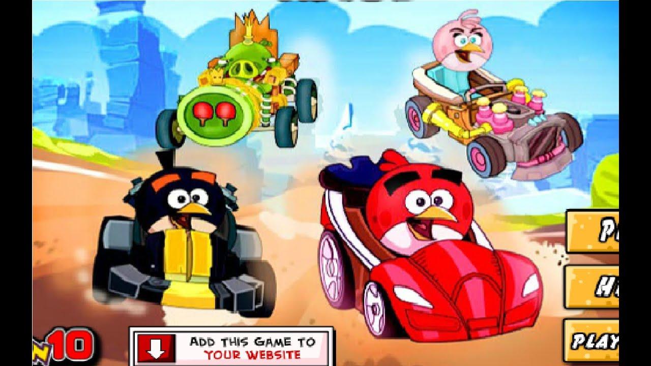 juego de carrera de carros para nios Juego Angry Birds Race