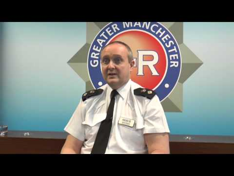 Chief Superintendent Mark Roberts talks about police brutality claims at Barton Moss