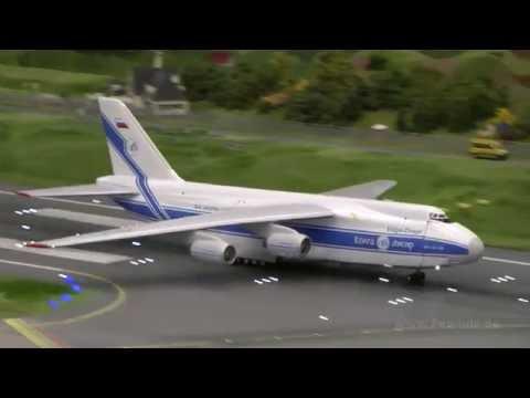 Der größte Flughafen der Welt Airport Knuffingen im Miniatur Wunderland