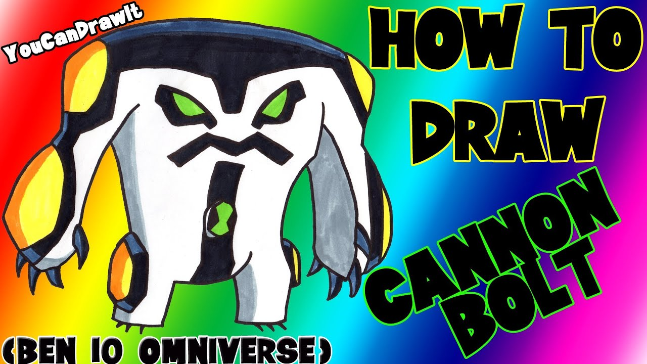 Download How To Draw Cannonbolt from Ben 10 Omniverse ✎ YouCanDrawIt ツ 1080p HD