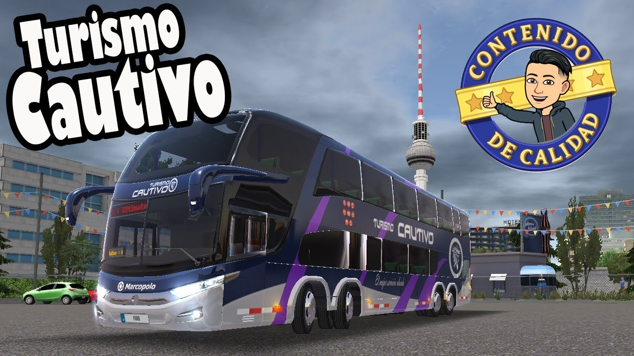 Bus Simulator Ultimate / Skin Turismo CAUTIVO 🚧