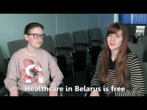 Myth#1 - Belarus looks like a run-down Soviet province.Healthcare in Belarus is free.Elena & Maria