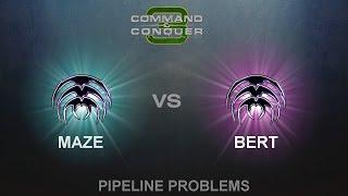 C&C3: Tiberium Wars 1vs1 - Maze (S) vs. Bert (S)