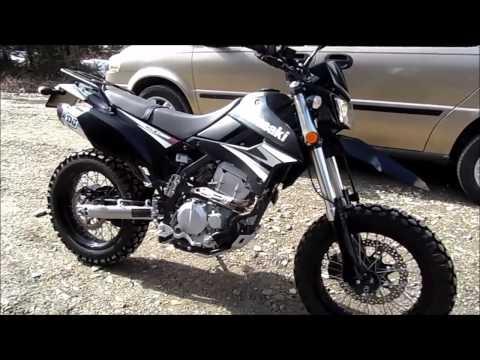 Kawasaki KLX250SF mods