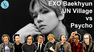 Classical Musicians React: Baekhyun 'UN Village' vs 'Psycho'