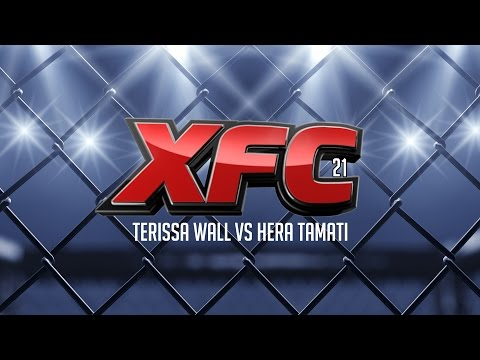 XFC21 Terissa Wall Vs Hera Tamati