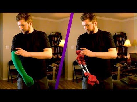 Green Screen Robotic Arm | VFX on a Budget thumbnail