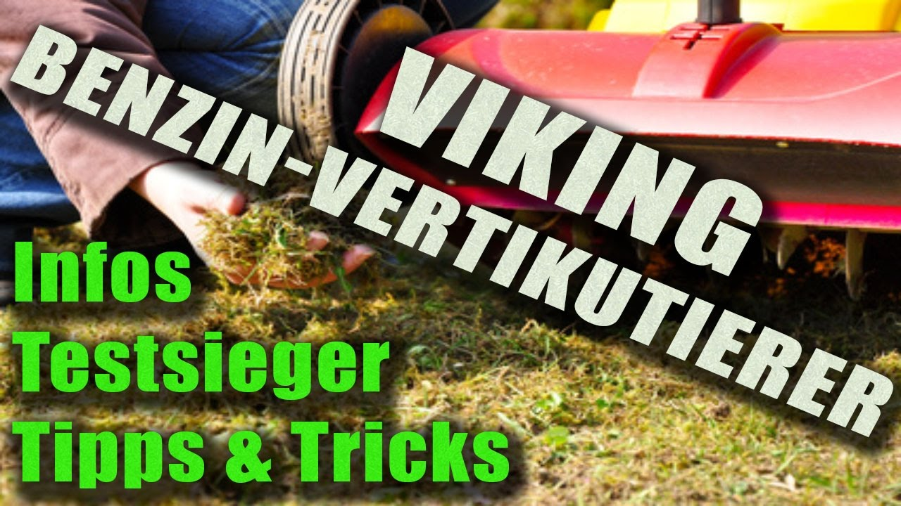 vertikutierer benzin viking infos tipps und testsieger vertikutierer youtube. Black Bedroom Furniture Sets. Home Design Ideas