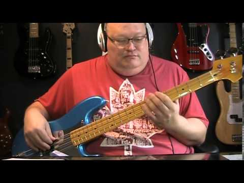 Gary Moore Cold Day In Hell Bass Cover With Notes & Tablature