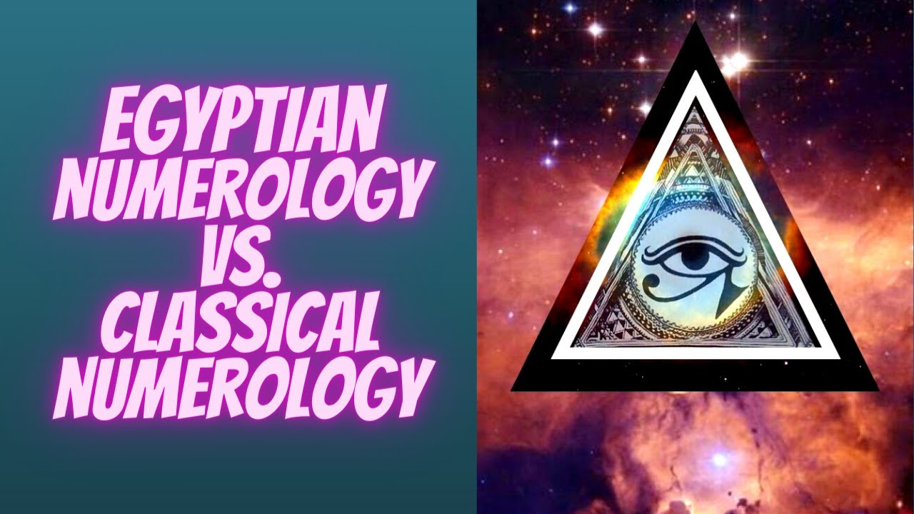 EGYPTIAN NUMEROLOGY VERSUS CLASSICAL NUMEROLOGY With Sara Bachmeier
