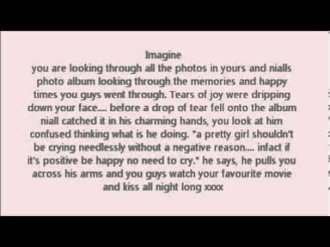 one direction A personal Niall Horan imagine for Hanny