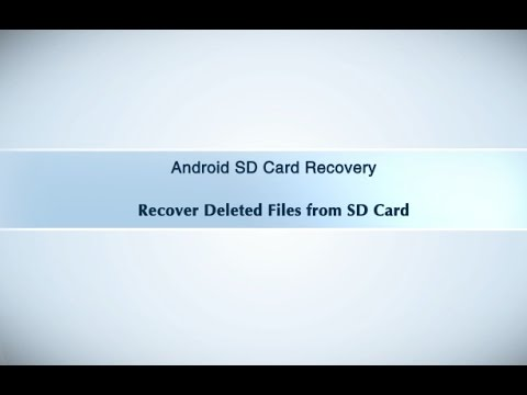 Recover Files from Android SD Card for Windows/Mac