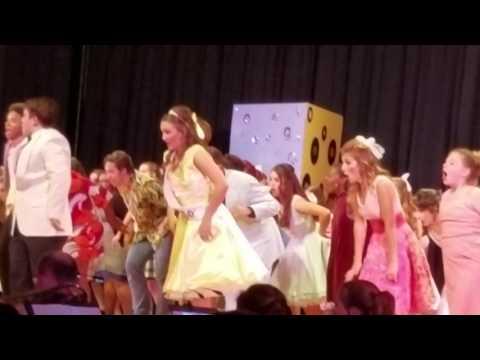 Grassfield High School - Hairspray 2016 -  Start of the Finale