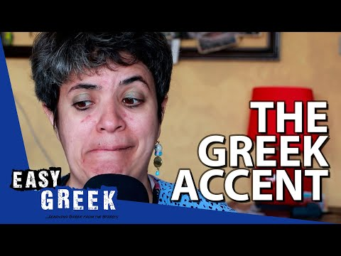 Greeks Speaking English with a Greek Accent | Easy Greek 65