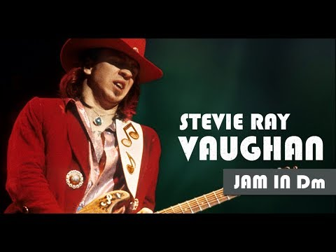 Stevie Ray Vaughan Style Slow Minor Blues Backing Track
