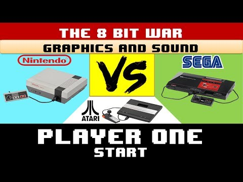 The 8 Bit War: Graphics And Sound - Player One Start