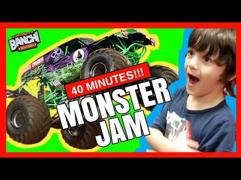 We had the best Seats at Monster Jam! Come With Us | Banchi Brothers Grave Digger Long Video