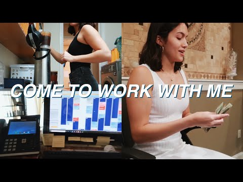 COME TO WORK WITH ME: Spa Receptionist *I Messed Up*