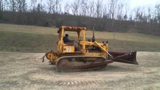 1984 cat d5b bull dozer for sale running and operating video