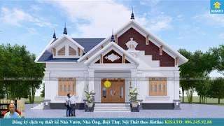 Mẫu Nhà Cấp 4 Đẹp 150m2 Với 3 Phòng Ngủ Tại Bình Xuyên Vĩnh Phúc