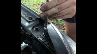 видео Как снять бампер в Киа Сид