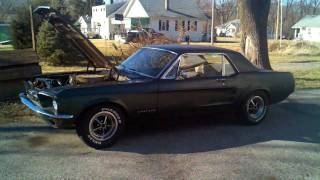 1967 Ford Mustang-C-code 289 numbers matching