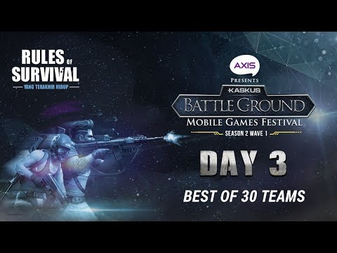 [DAY 3] KASKUS Battleground ROS - Wave 2