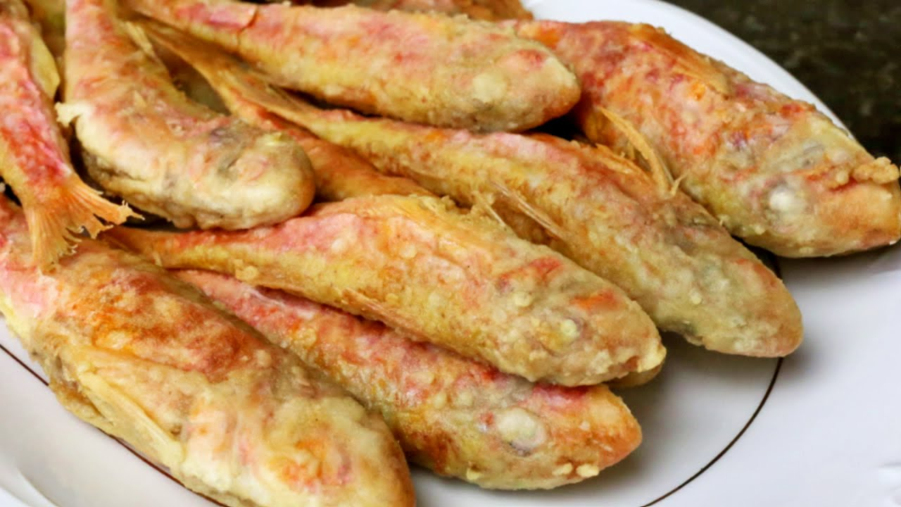 Salmonetes Fritos Youtube