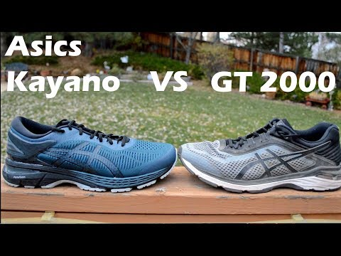 asics gel kayano vs gt 4000