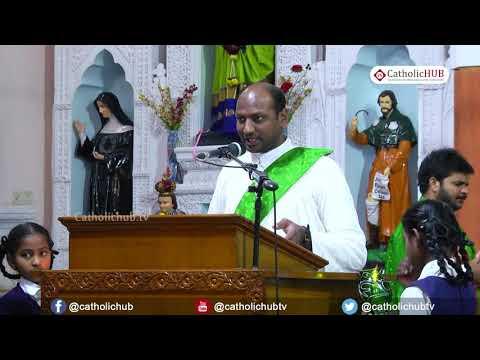 English Mass @ St. Mary's Basilica, Sec'bad, TS, IND. 17-2-2020