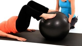 How to Work Out with an Exercise Ball | Pregnancy Workout
