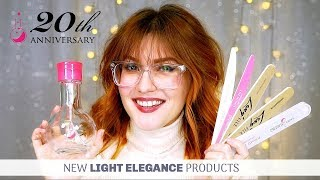 NEW FILES AND CLEANSER PUMPS - MUST SEE!! | LIGHT ELEGANCE | GEL NAILS