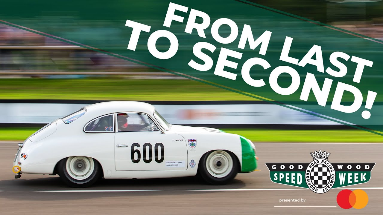 BTCC star shoots from last to second place in Porsche 356! – YouTube
