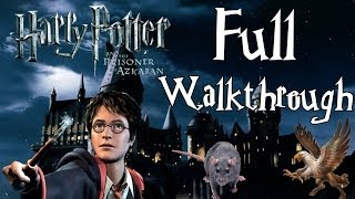 Harry Potter and the Prisoner of Azkaban - FULL 100% Walkthrough (3,5 HOURS, 1080p)