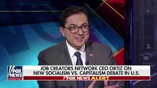 Alfredo Ortiz discusses AOC Times Square billboard on Fox News
