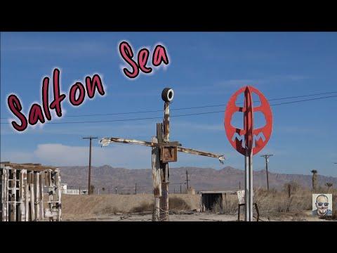 Exploring the Salton Sea Post Apocalyptic Wasteland